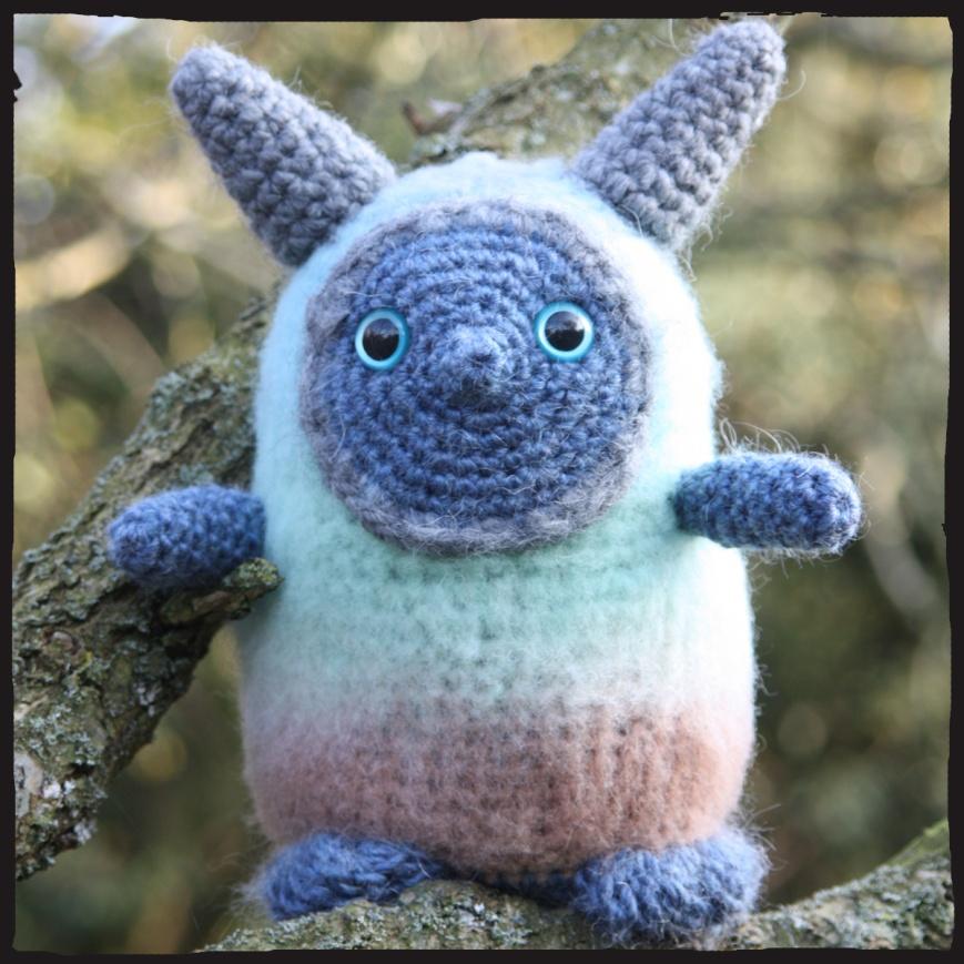 Kami crochet amigurumi doll
